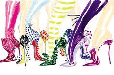 Manolo Blahnik's footwear Fairytale