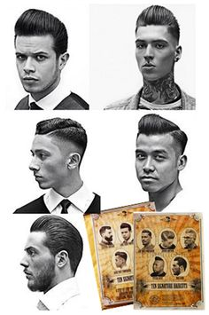 10 Step by Steps / 2 Instructional DVDS  Featuring classically influenced barbering with on trend cutting techniques by Schorem Haarsnijder en Barbier