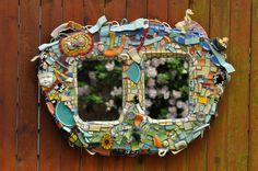 You Lookin' At You. – rubyart mosaics. BREAK.GLUE.GROUT