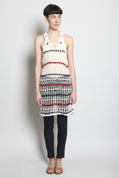 need to learn to crochet!  isabel marant from totokaelo