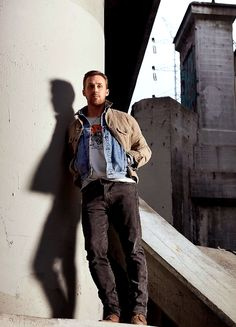 Ryan Gosling photographed by Michael Muller for InStyle Germany, Fall 2017