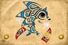 Native American Sonic by SonicJ