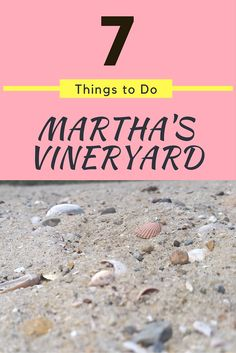 7 Free Things to Do in Martha's Vineyard, Cape Cod, Massachusetts. Including lots of historic sites on the island.
