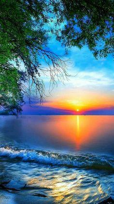 Beautiful Photos Of Nature, Beautiful Sunset, Nature Photos, Beautiful Scenery, Amazing Nature, Beautiful Places, Sunrise Wallpaper, Scenery Wallpaper, Wallpaper Backgrounds