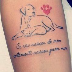 sub pasta tatoo Dream Tattoos, Dog Tattoos, Mini Tattoos, Animal Tattoos, Future Tattoos, Body Art Tattoos, Small Tattoos, Tatoos, Tattoo Perro