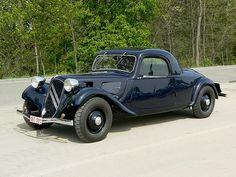 Citroen Traction Avant 11B Coupé (ou 'faux cabriolet') millésimes 2/1937-1938