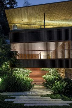 Next Article Previous Article  The Delta House is a contemporary seaside vacation home designed by Bernardes Arquitetura.  Completed in 2013, it is located in Guarujá, a municipality in the São Paulo state of Brazil