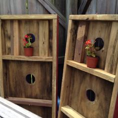 """You know that game where you throw the washers in the hole? Well, I turned my son's backwards and stuck a little begonia on the top """"shelf"""". He's not crazy about it but I think it has more appeal. And he can get it down to play. In The Hole, Washers, Begonia, Party Games, Things To Think About, Shelf, Play, Canning, Top"""