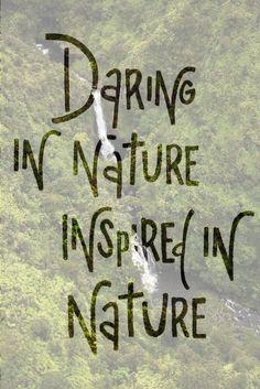 Daring In Nature Inspired In Nature #ROXYOutdoorFitness