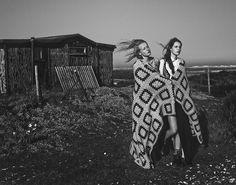 In The Shadow Of The Sun Photography: Billy Ballard Styling: Alex Robertson-Dunlop Hair: Thomas Silverman Make Up: Yumiko Yamamoto Models: Anine @ IMG Yana @ Next