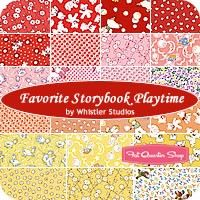 Favorite Storybook Playtime Fat Quarter BundleWhistler Studios for Windham Fabrics