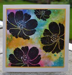 Darkroom Door Carved Flowers Stamps