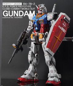 Custom Build: PG 1/60 RX-78-2 Gundam Ver. HOONISEE [Detailed] - Gundam Kits Collection News and Reviews