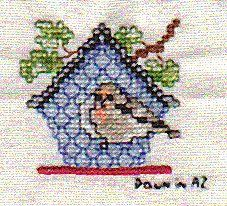 Exchange square - Counted Cross Stitch