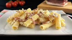 ricotta e speck Ricotta Pasta, Calamari, Antipasto, Potato Salad, Cooking, Ethnic Recipes, Food, Menu, Kitchens