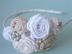 Vintage Headband  ~I'm suprised I like this(maybe just because I can make this. ;P