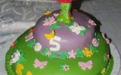 Torta di compleanno-Torta Trilly in pasta di zucchero #torta #trilly #dolce #pasta #di #zucchero #pdz