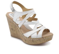 Wedges in white I want
