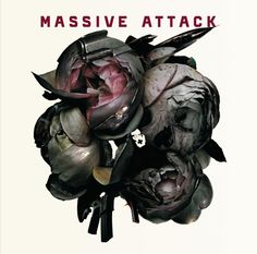 """Poster for Massive Attack live at the Hollywood Bowl in 2006 / """"Ballistic Rose"""" - the name given to a collage of different images, by Robert Del Naja and Tom Hingston, which was used as the front cover of Massive Attack's Collected """"Best Of"""" 2006 album. Cd Cover, Music Covers, Cover Art, Album Covers, Lps, Robert Kiyosaki, Spoken Word, Quotes Dream, The Dark Side"""