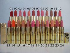Mac Lipstick 24 Color