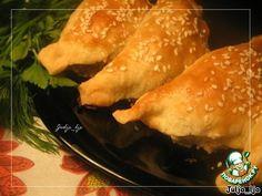 """Закусочные слойки с начинкой """"Жульен"""" - кулинарный рецепт"""