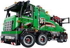 LEGO Technic Sleeptruck 42008 - De leukste LEGO bestel je online op https://www.olgo.nl