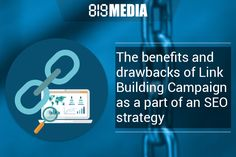 The benefits and drawback of link building campaign of seo strategy that works for your website and helps to increase your visibility in search engines The Marketing, Digital Marketing, Display Advertising, Seo Strategy, Competitor Analysis, Do It Right, Digital Technology, Search Engine, Online Business
