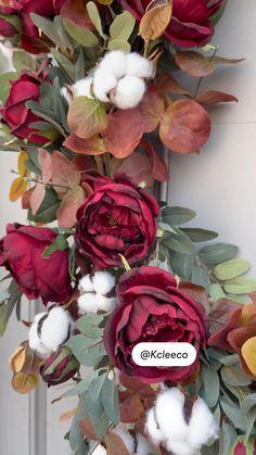 Autumn Wreaths, Christmas Wreaths, Fall Crafts, Diy Crafts, Wreaths And Garlands, Fall Wedding Decorations, Crafty Kids, Fall Home Decor, Summer Wreath