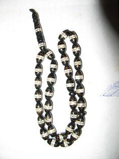 19.4g Genuine Black CORAL Olive s MISBAHA 33/Imam YUSURI by spyrinex06 on Etsy