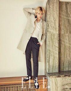 EXO leader Baekhyun in Elle Korea