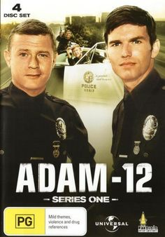 Adam - 12 On Dvd., Movies ST