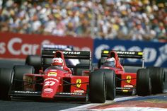 Mansell , Berger 1989