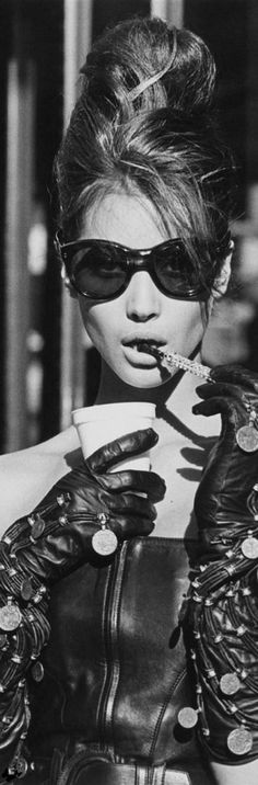 Breakfast at Versace - Christy Turlington