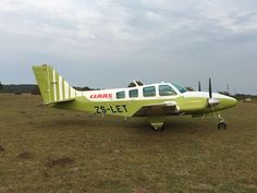The Aircraft belongs to the company that distribute Claas Combines, Tractors and Agri-related equipment in South Africa. Claas is one of the world's leading manufacturers of agricultural engineering equipment.