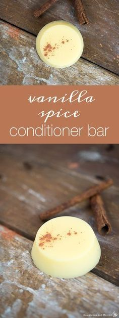 Vanilla Spice Conditioner Bar – Humblebee & Me – Zero Waste Cartel – haar Diy Cosmetic, Diy Conditioner, How To Make Conditioner, Diy Shampoo, Lush Shampoo Bar, Solid Shampoo, Piel Natural, Natural Hair, Diy Hair Care