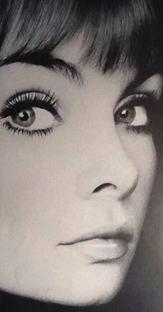 Jean Shrimpton in Harper's Bazaar 1967 for Yardley