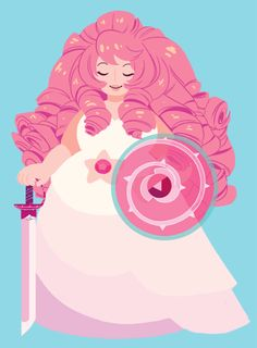 The most beautiful pink marshmallow <3 I hope we learn more about her soon!