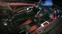 Aegis Sabre cockpit view