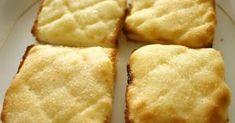 食パンにメロンパンのクッキー生地をのせて焼くトースト!パン生地を作らなくても、焼き立てのメロンパンを食べている気分♪