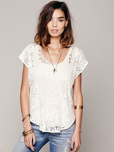 Free People Moroccan Top