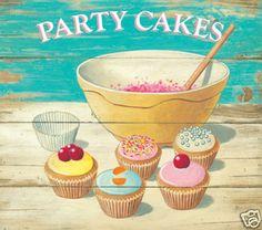 Martin Wiscombe cupcake poster