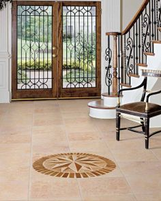 With rich golds and beiges and subtle veining throughout, Angelica Gold travertine tiles are perfect for all interior flooring or wall projects. Available in 12x12 and 18x18, this tile is also great for exterior projects without freezing temperatures. #tiletuesday