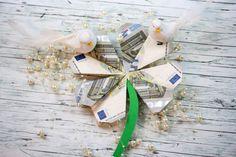 Glücksklee - Faltanleitung für Geldscheine