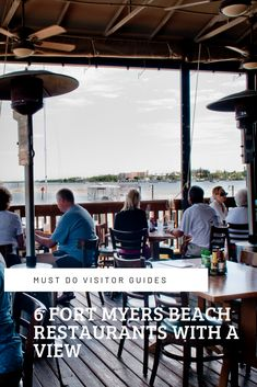 Must Do Visitor Guides Waterfront dining. 6 Fort Myers Beach Restaurants With a View Fort Myers Beach Restaurants, Fort Myers Beach Florida, Florida Vacation, Florida Travel, Florida Beaches, Great Vacations, Vacation Ideas, Happy Hour Specials, Tourist Information
