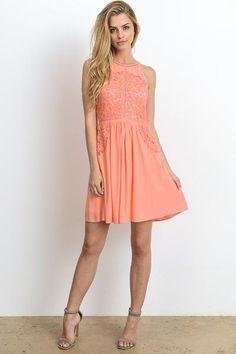 Hopeless Romantic A Line Dress