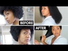 How I Grew My Natural Hair | My 7 Month Hair Growth Results - YouTube