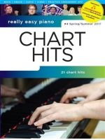 DIVERSE - CHART HITS SPRING/SUMMER 2017 Really easy piano - € 15,75 Piano populair, Piano solo + audio acces, WISE AM1012869