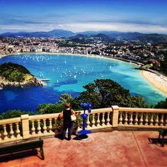 San Sebastian. The most wonderful place.