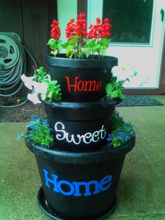 memorial day flower pots