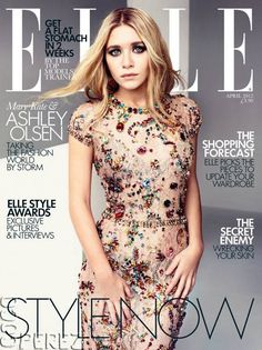Mary-Kate & Ashley Olsen Are Elle UK Cover Twins